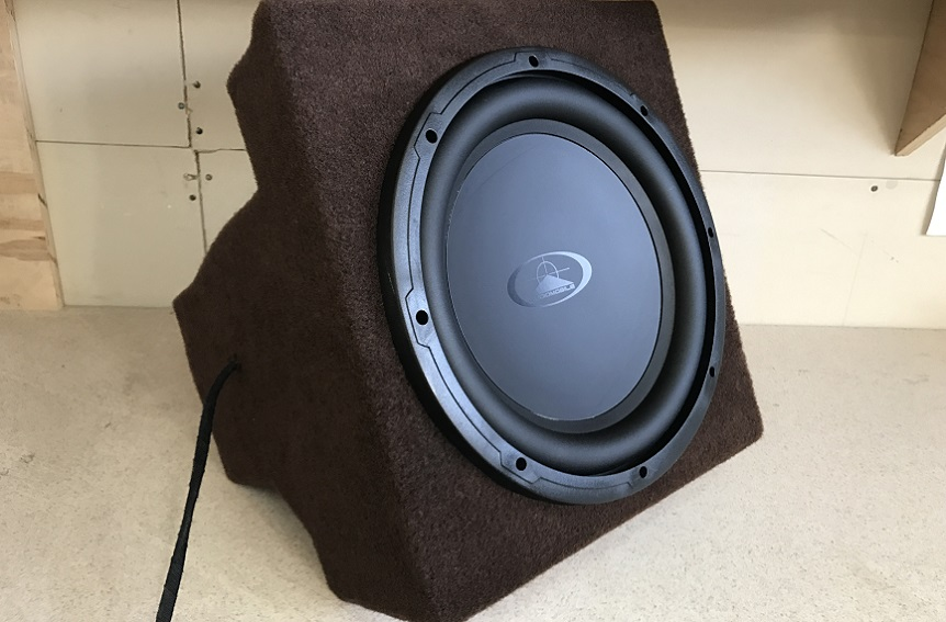 fabricating the subwoofers